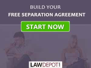 How to file legal separation in canada